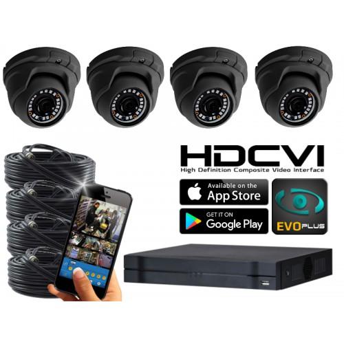 Dahua 720p Camerasysteem 4 kanaals